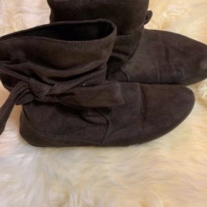 Shoes - slip on booties size 7.5